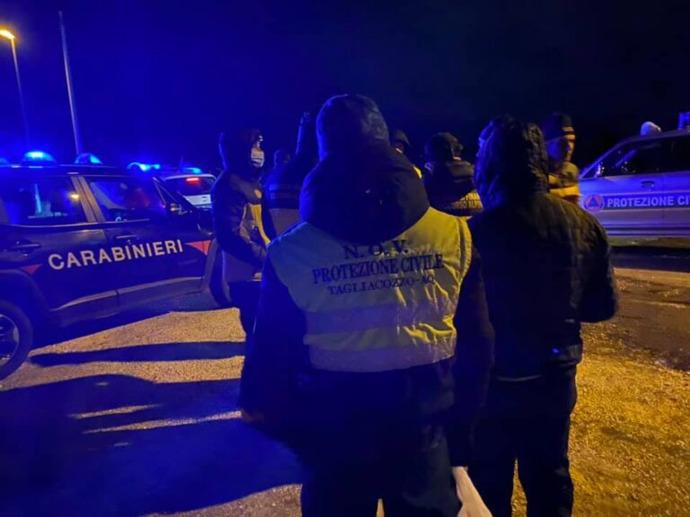Disperse quattro persone di Avezzano sul Monte Velino, In azione le squadre del soccorso alpino e vigili del fuoco