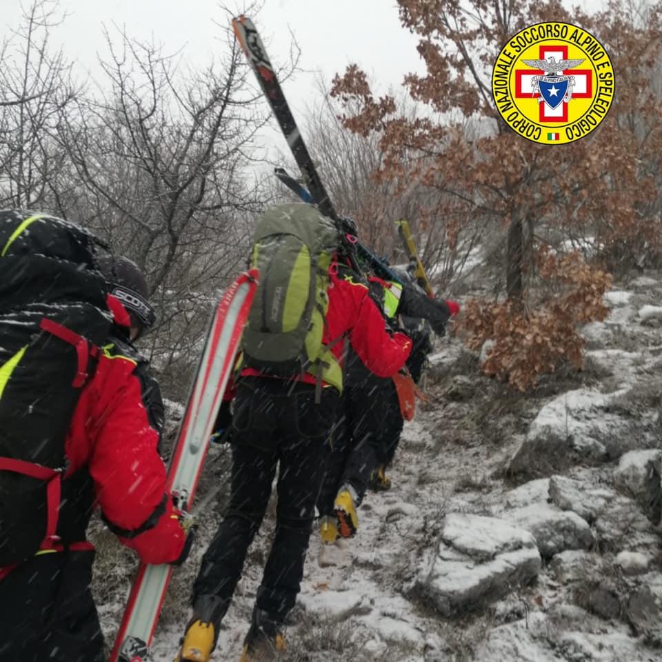 Ricerca dei quattro escursionisti sul Monte Velino, resta operativo il dispositivo di soccorso