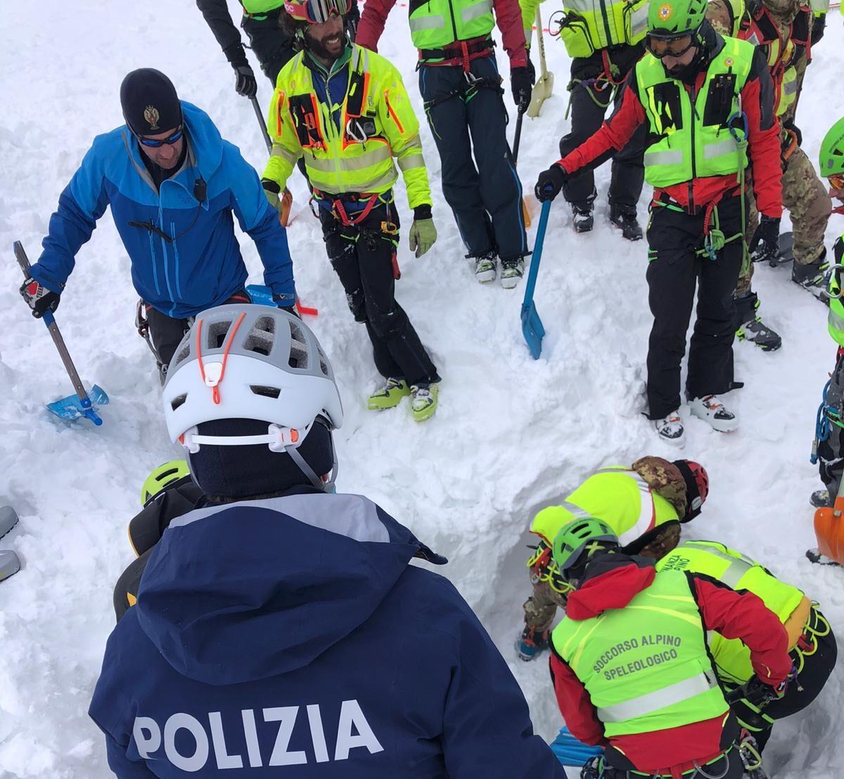 L'Amministrazione Provinciale partecipa al dolore per la perdita degli escursionisti sul Monte Velino