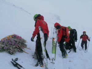 Il Soccorso Alpino ricorda con un'esercitazione i cinque eroi che persero la vita sul Monte Cefalone