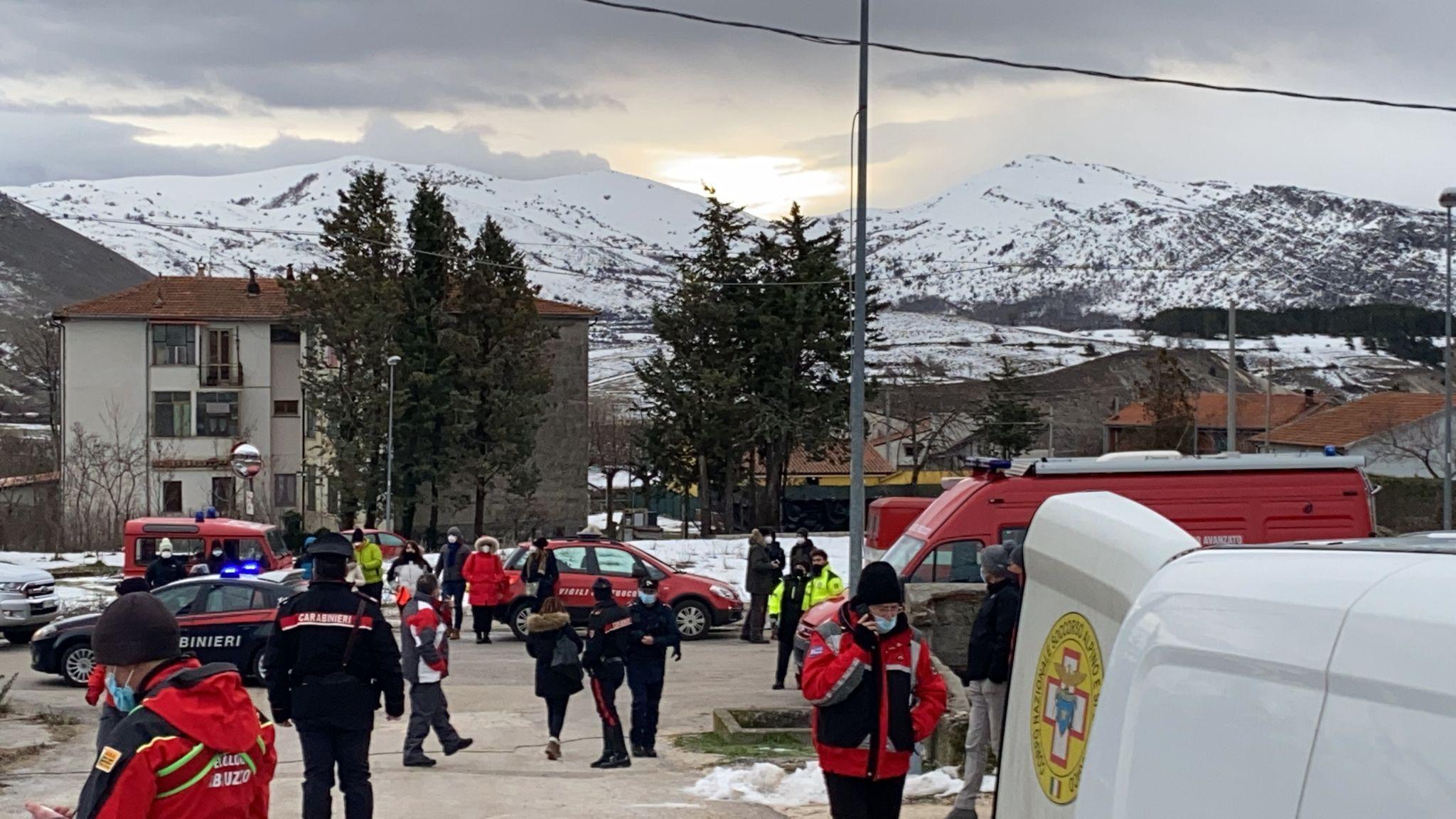 Dispersi sul Monte Velino, il Comune di Massa d'Albe mette a disposizione i locali della Pro Loco per offrire assistenza e ristoro ai parenti e agli amici degli escursionisti