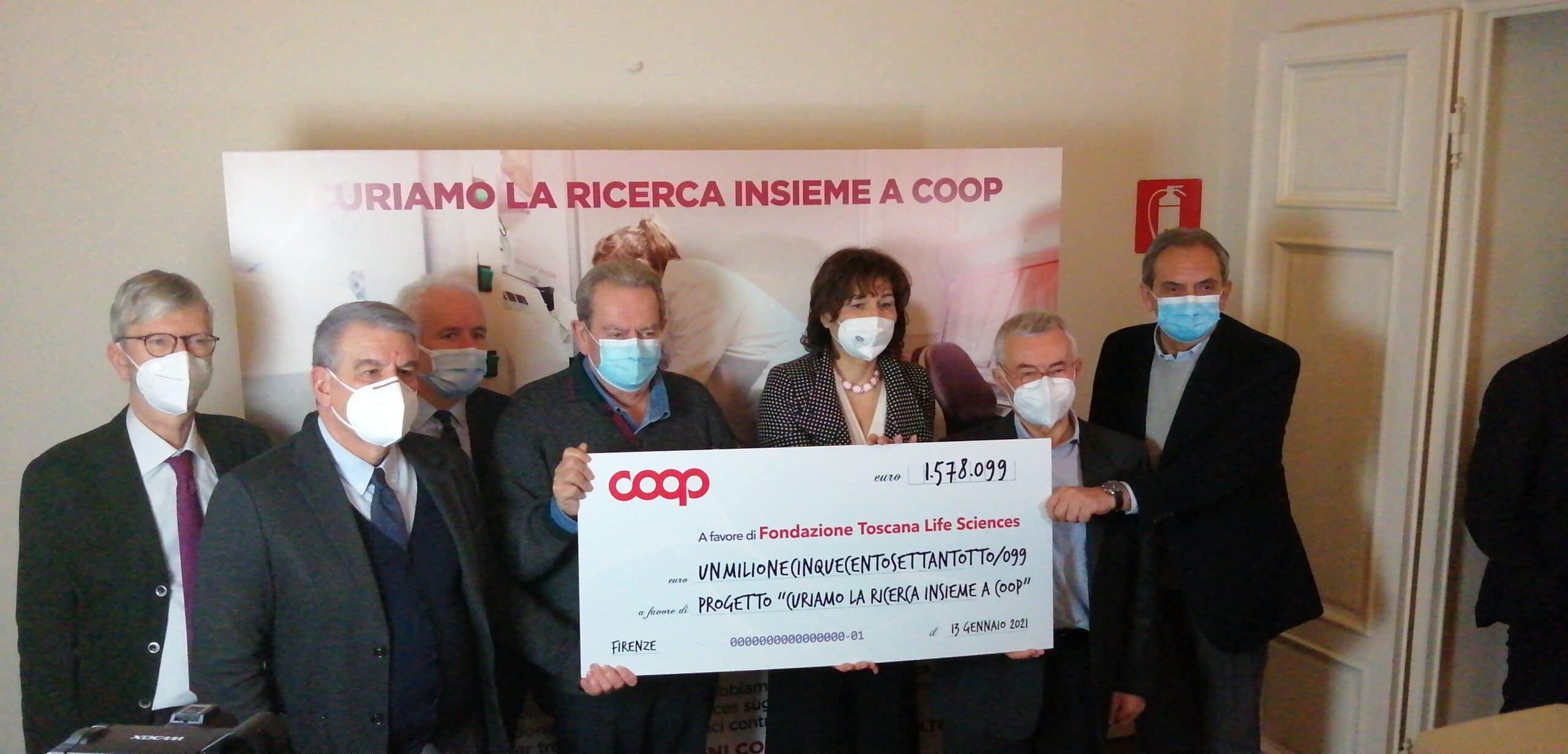 """Coop: """"Raccolti oltre 1,5 milioni di euro per la ricerca"""""""
