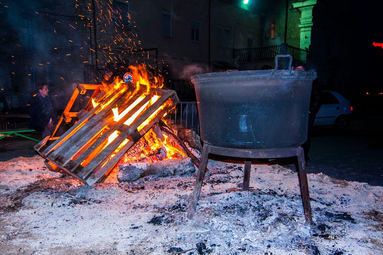 Trasacco sospende la festa popolare di Sant'Antonio Abate