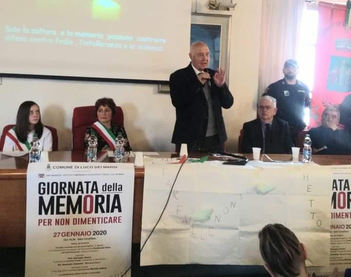 Nel Giorno della Memoria la sindaca De Rosa rivolge un pensiero anche ai dispersi sul Velino