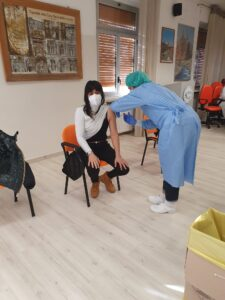 Sono due fisioterapiste le prime vaccinazioni a Pescasseroli