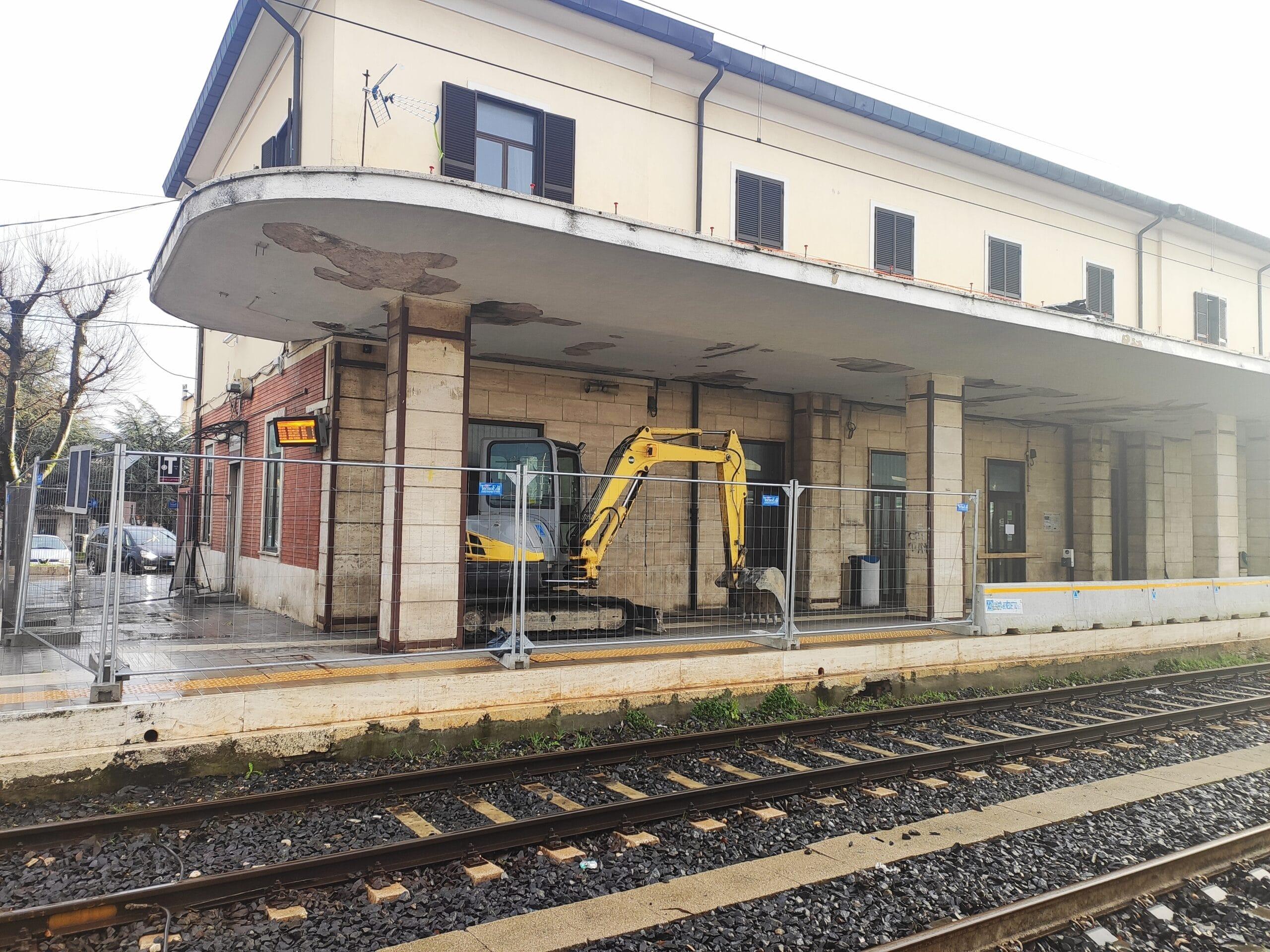 Lavori in corso alla stazione di Avezzano, verrà adeguata ai nuovi standard europei