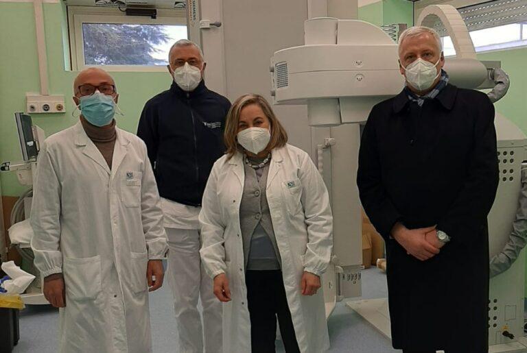 Ospedale di Tagliacozzo: in funzione apparecchio di radiologia di ultima generazione,