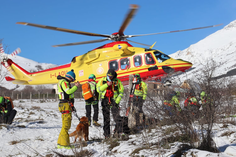 Ricerca e soccorso dispersi sul Monte Velino - aggiornamenti e diretta live