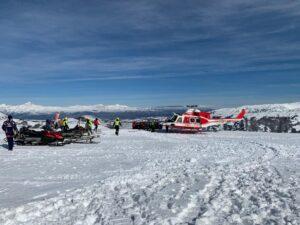 Dalle piste da sci del Monte Magnola è Iniziato il trasporto del gatto delle nevi (video e Foto)