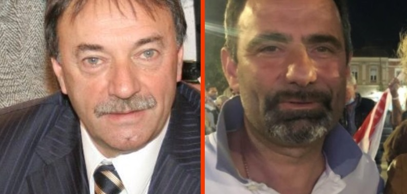 Il sindaco Angelo di Paolo, Consigliere provinciale Gianluca Alfonsi