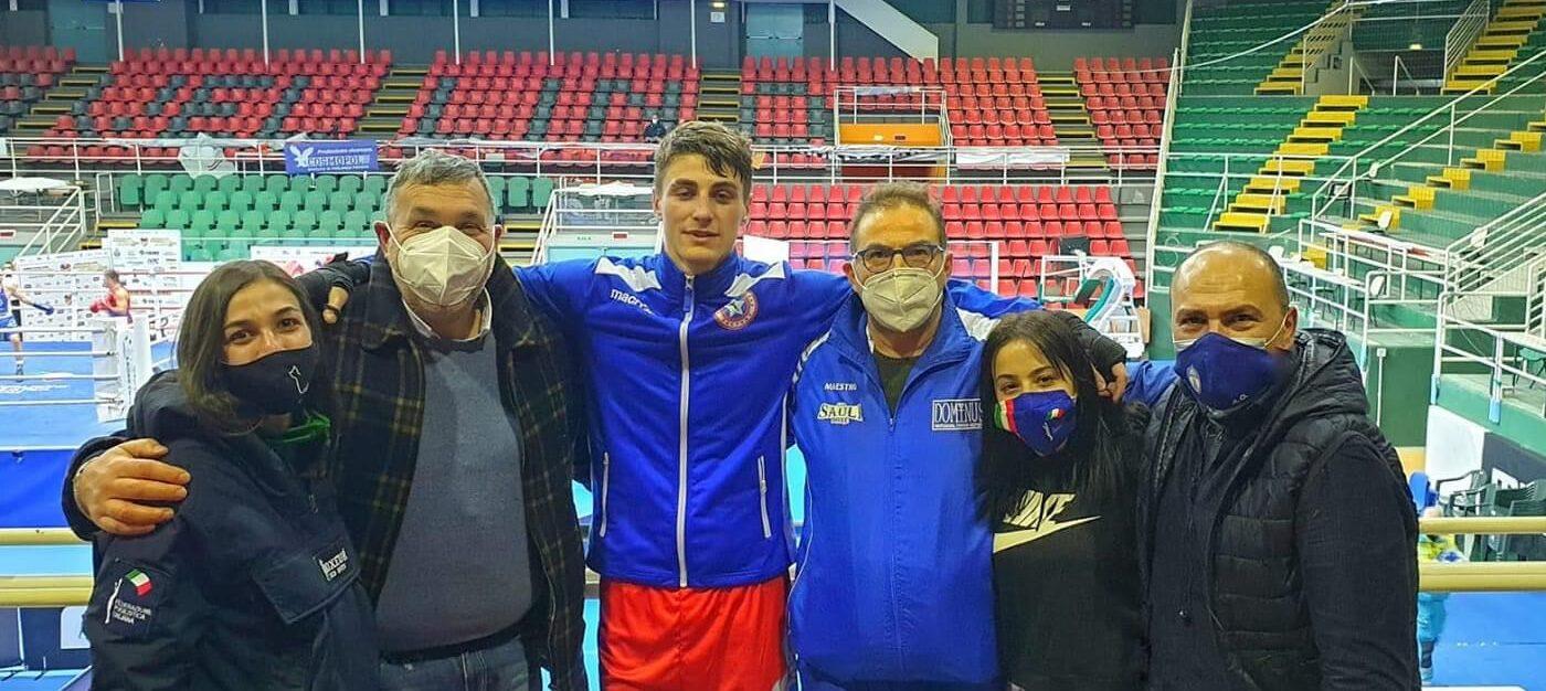 Boxe, Amedeo Sauli vola in finale ad Avellino nei Campionati Elite