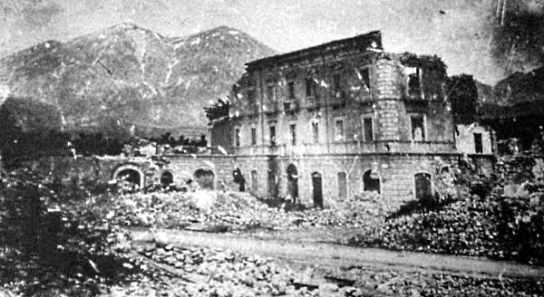 Commemorazione delle vittime del terremoto del 1915 a Cappelle dei Marsi