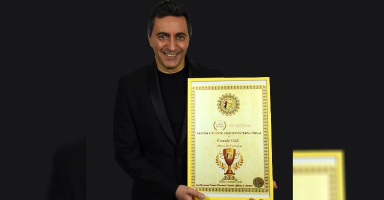 """All'attore Corrado Oddi il Premio """"VINCE 2020"""" Vincenzo Crocitti International"""