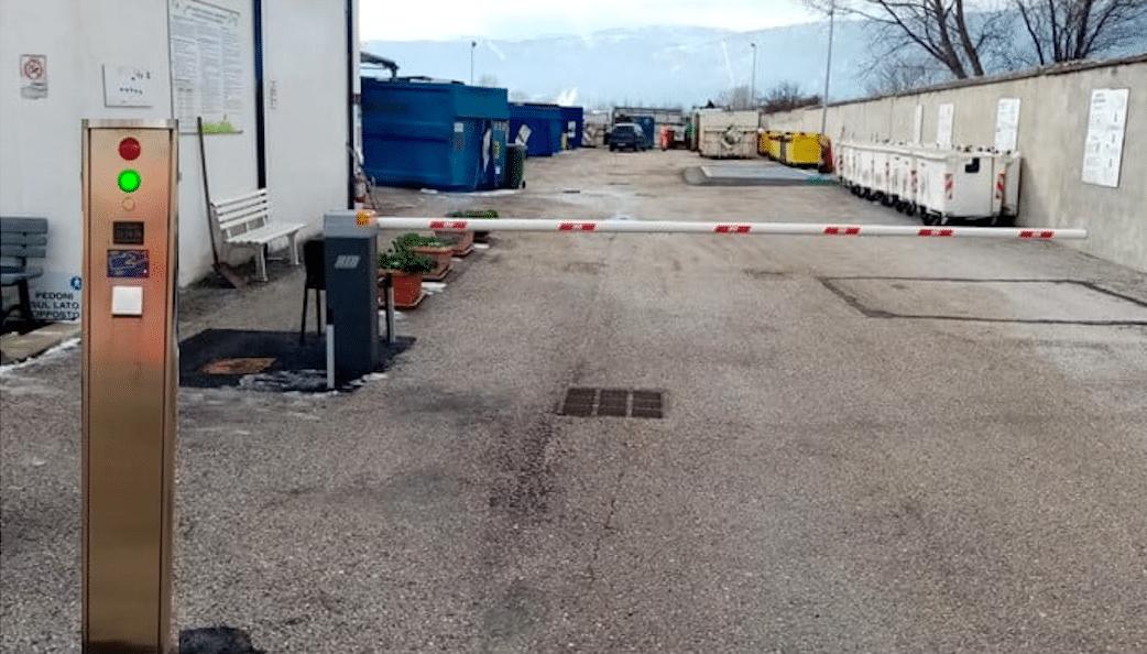 Cambiano le modalità di accesso al centro di raccolta comunale Tekneko di Avezzano