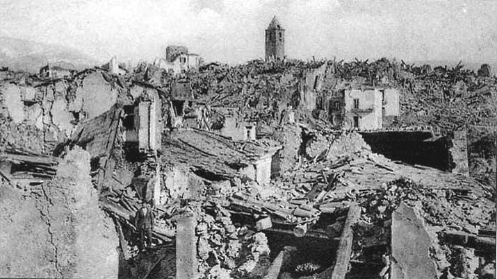Collarmele commemora le vittime del terremoto del 1915