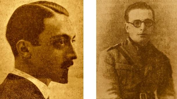 I podestà: Mameli Tarquini di Pescina e Domenico Amicucci di Tagliacozzo