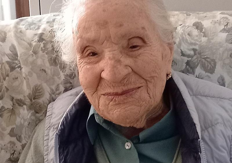 Dora compie 105 anni e riceve gli auguri dal Sindaco Mostacci e da tutta Collarmele