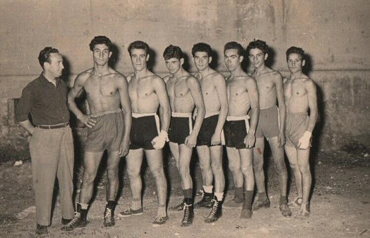 """I ragazzi di """"Forza e Coraggio"""", la storica società pugilistica di Avezzano"""