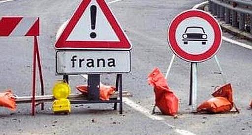 Movimenti franosi a Paterno di Avezzano, divieto di circolazione su via Sant'Onofrio