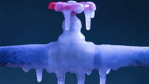 Temperature sotto zero, il CAM consiglia di proteggere i misuratori dell'acqua
