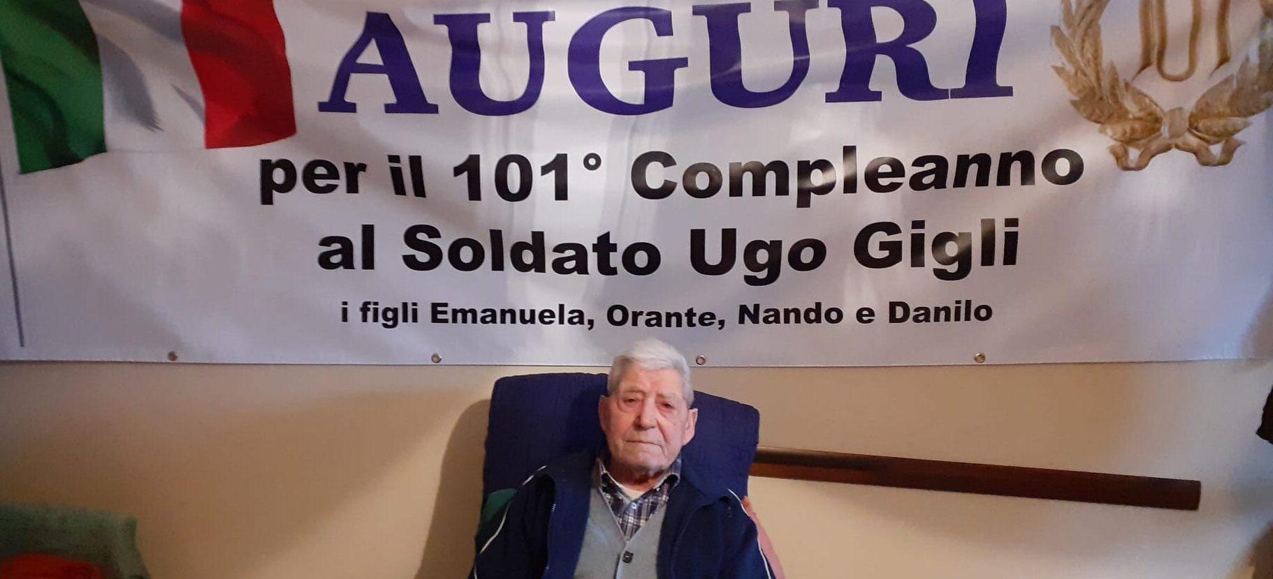 Ortucchio, un super nonno compie 101 anni