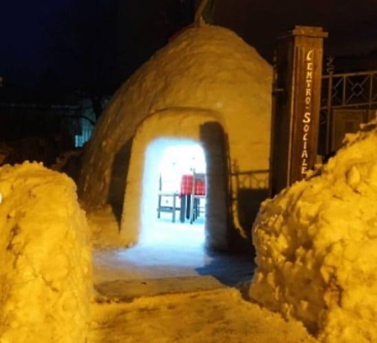 Cosa ci fa un igloo nel Parco Nazionale d'Abruzzo, Lazio e Molise?