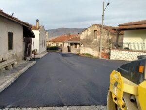 Ultimati i lavori di asfaltatura di alcune strade di Ortucchio