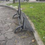 Avezzano, vandali e zozzoni in azione a piazza Matteotti
