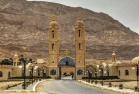 Monastero di Sant'Antonio Abate sul Monte Qoulzom (Egitto)