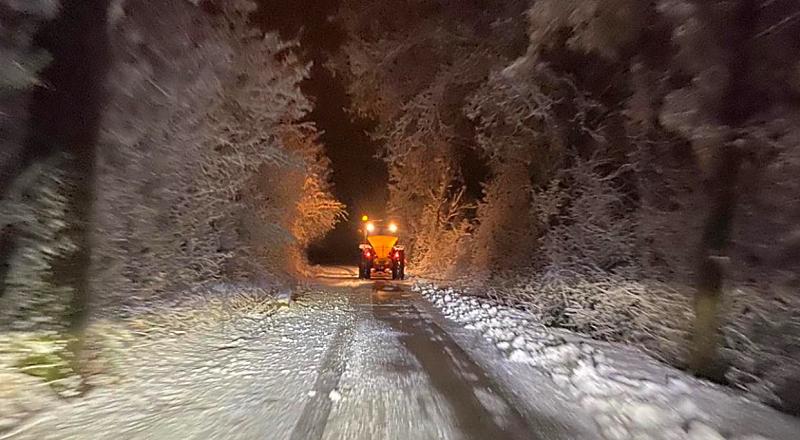 Emergenza neve: attivo il centro operativo comunale di Tagliacozzo