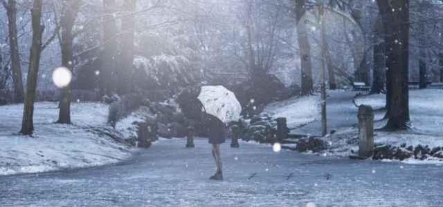 Neve in Abruzzo, allerta gialla della Protezione Civile