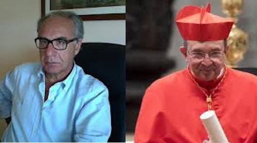 dr.Stefano Pallottae Sua Eminenza ilCardinale Giuseppe Petrocchi,Arcivescovo di L'Aquila e Presidente della Conferenza Episcopale Abruzzese-Molisana