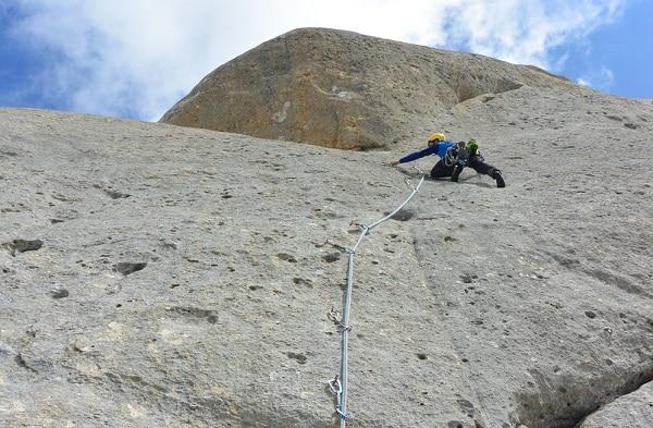 Si sveglia dopo due mesi di coma il giovane alpinista precipitato per 100 metri sul Gran Sasso