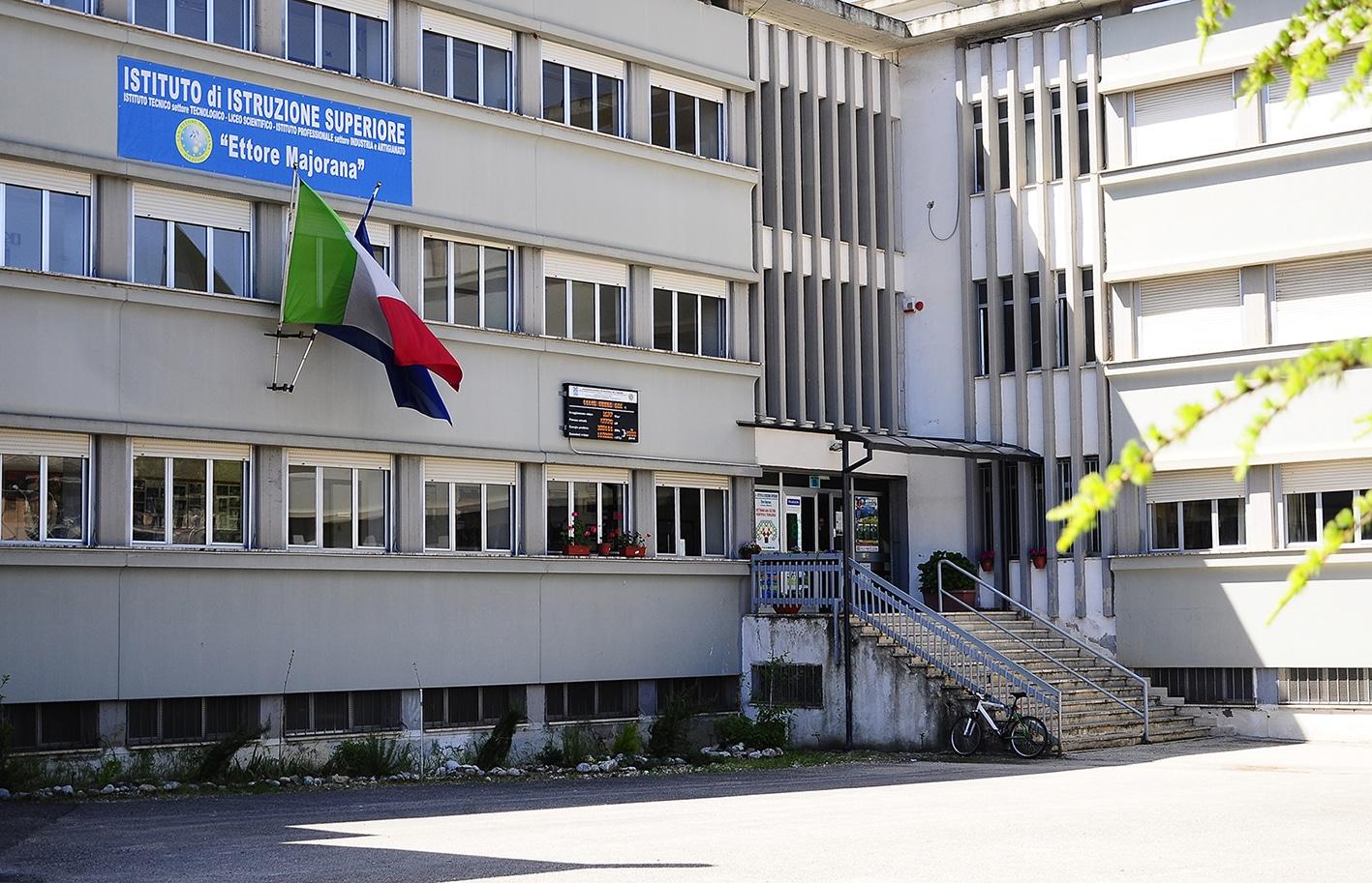Open day virtuale ed in presenza all'istituto Ettore Majorana di Avezzano