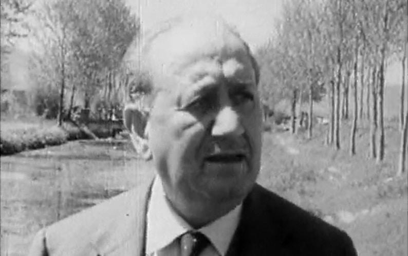 """Ignazio Silone si racconta in un video d'epoca: """"in fondo sono rimasto un terrone"""""""