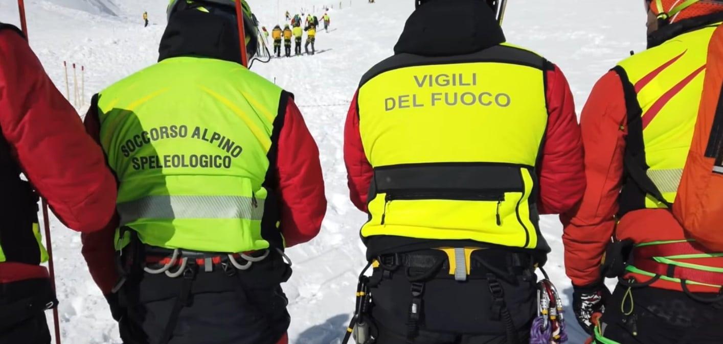 Ultim'ora ricerche dispersi Monte Velino, Interrotte al momento le operazioni di soccorso a causa del maltempo