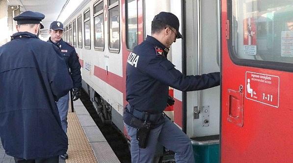Trasporto gratuito sui Trenitalia degli agenti e ufficiali delle Forze di Polizia in Abruzzo