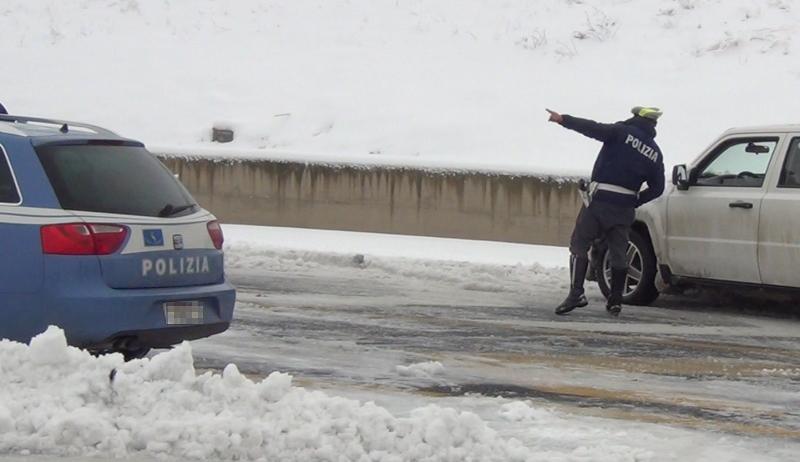 Emergenza neve e gestione viabilità in provincia dell'Aquila, riunito il Comitato Operativo Viabilità