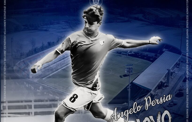 Il calciatore Angelo Persia