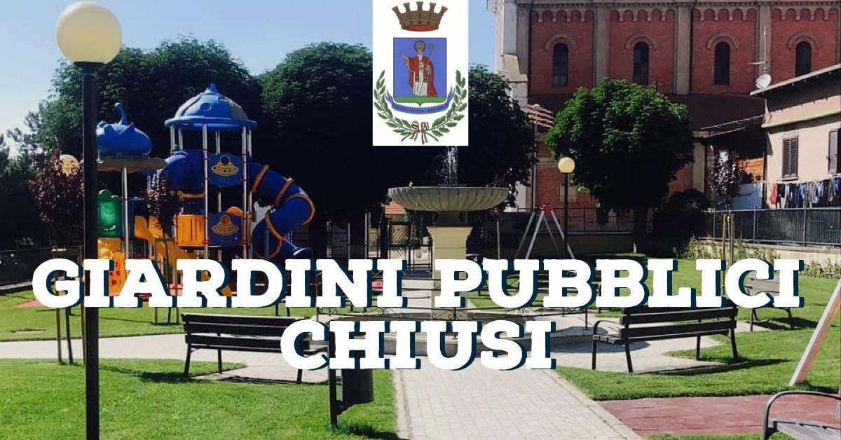 Troppi assembramenti il sindaco Zauri chiude il parco giochi