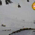 Aggiornamento sullo stato delle ricerche di quattro dispersi sul Monte Velino dal Posto di Comando Avanzato