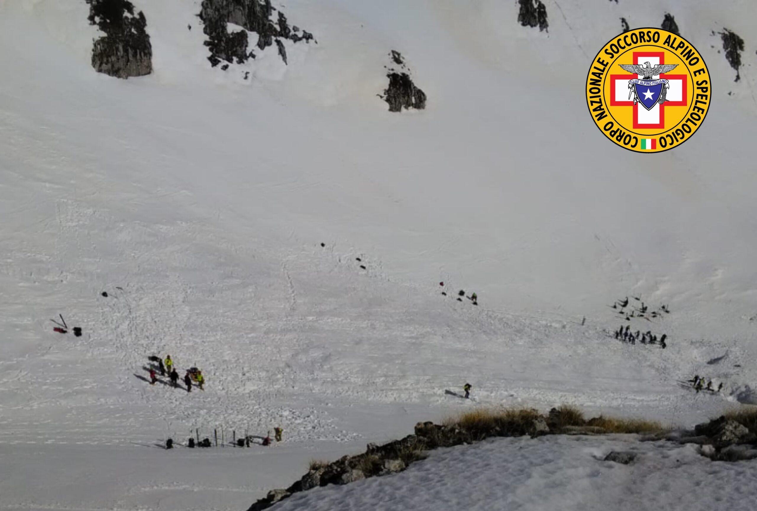 Riprese le ricerche dei 4 escursionisti dispersi sul Monte Velino con le squadre di terra