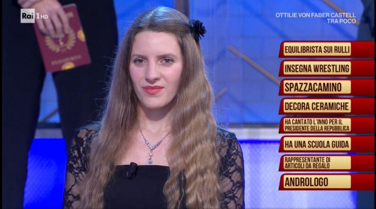 """La cantante marsicana Ilaria Di Nino tra gli """"ignoti"""" del noto programma preserale condotto da Amadeus"""