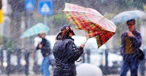 Previsto maltempo con precipitazioni di forte intensità e raffiche di vento