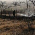 Incendio nei pressi di Villaggio San Berardo, intervenuta la Protezione Civile di Pescina