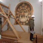 Collarmele, primo sopralluogo nella chiesa della Madonna delle Grazie
