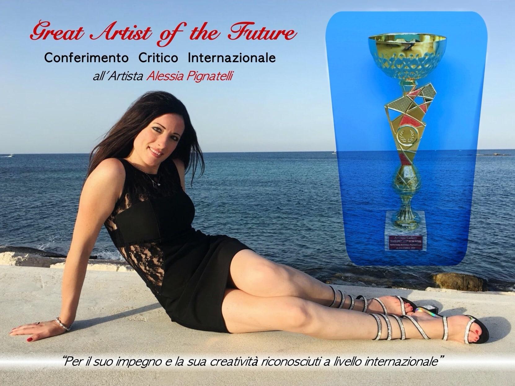 trofeo ad Alessia Pignatelli