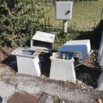 Avezzano, continui atti vandalici nella zona di Borgo Pineta