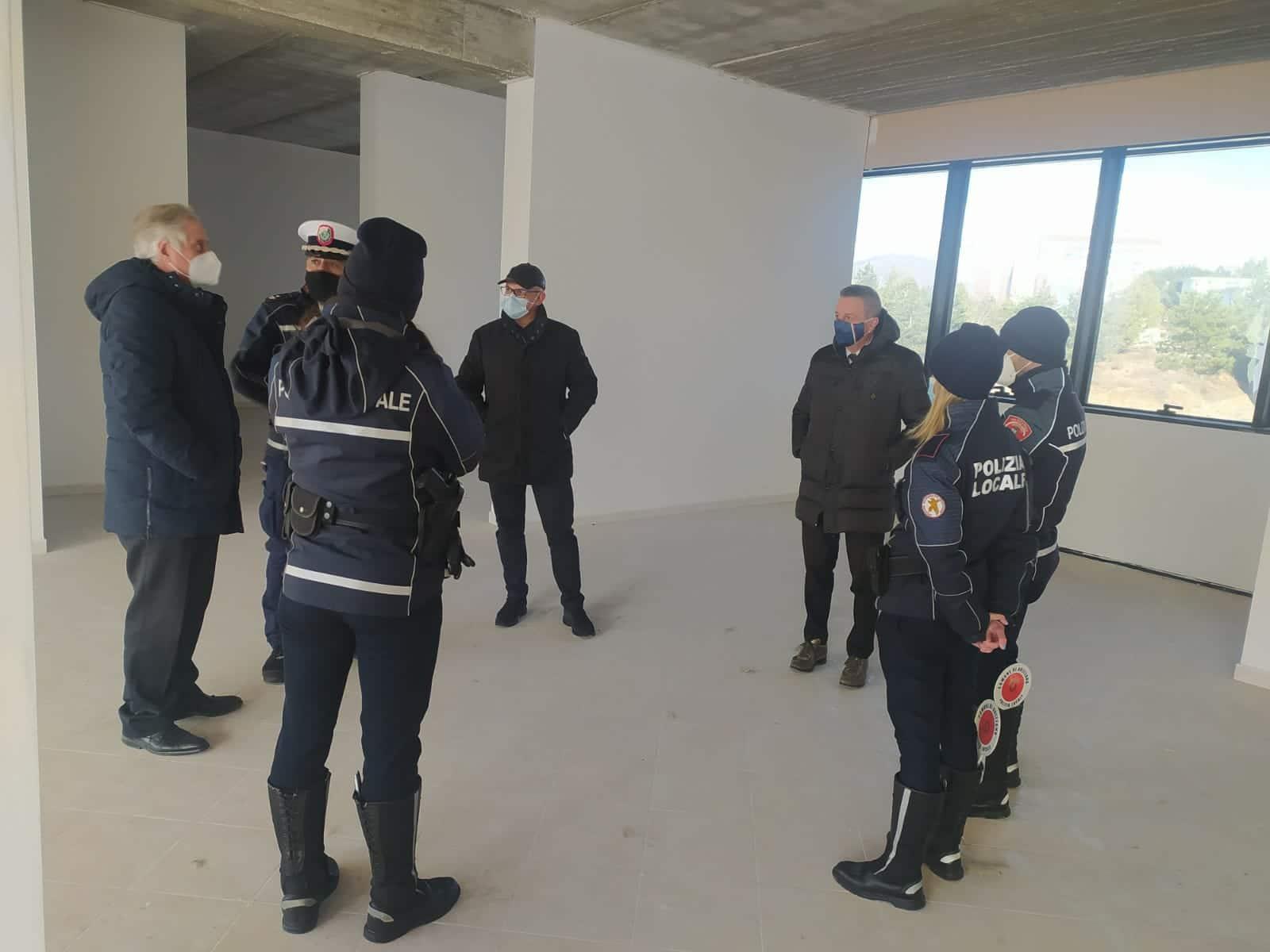 """Nuovo Municipio di Avezzano, il Sindaco Di Pangrazio accelera per aprire la struttura: """"In autunno lo stabile deve ospitare la Polizia locale"""""""