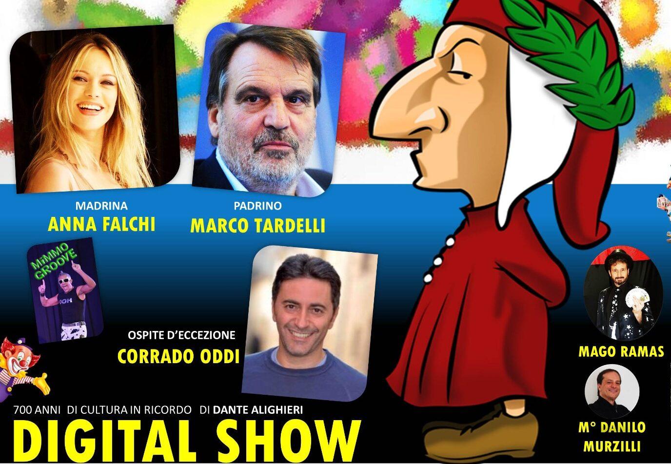 Una Grassa Domenica Festa del Carnevale delle Forze di Polizia, con Anna Falchi, Marco Tardelli e Corrado Oddi